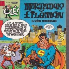 Cómics: COMIC COLECCION OLE MORTADELO Y FILEMON EDICIONES B EL SEÑOR TODOQUISQUE. Lote 218504242