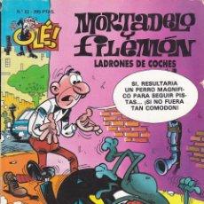 Cómics: COMIC COLECCION OLE MORTADELO Y FILEMON EDICIONES B LADRONES DE COCHES. Lote 218504273