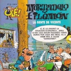 Cómics: COMIC COLECCION OLE MORTADELO Y FILEMON EDICIONES B LA GENTE DE VICENTE. Lote 218504383