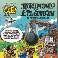 Cómics: COMIC COLECCION OLE MORTADELO Y FILEMON EDICIONES B EL PROFETA JEREMIAS. Lote 218504460