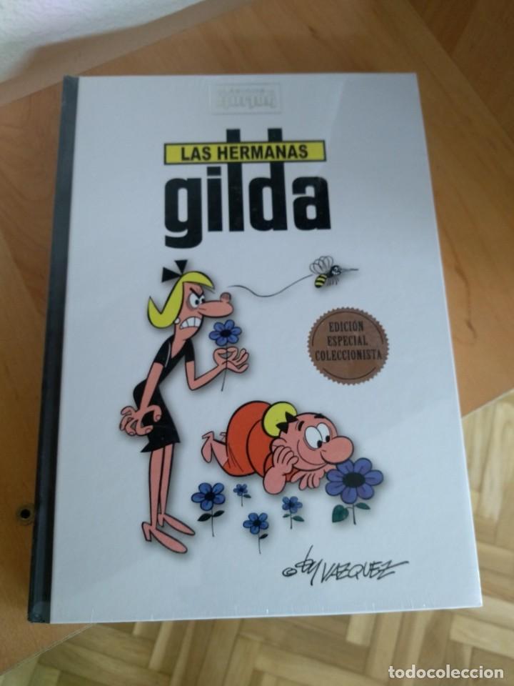 CLÁSICOS DEL HUMOR LAS HERMANAS GILDA - PRECINTADO Y EN EXCELENTE ESTADO (Tebeos y Comics - Ediciones B - Humor)
