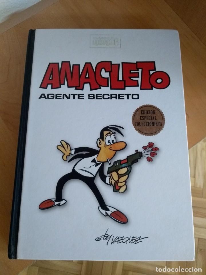 CLÁSICOS DEL HUMOR ANACLETO AGENTE SECRETO (Tebeos y Comics - Ediciones B - Humor)