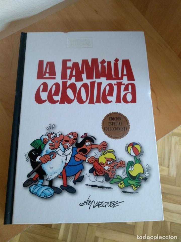CLÁSICOS DEL HUMOR LA FAMILIA CEBOLLETA (Tebeos y Comics - Ediciones B - Humor)