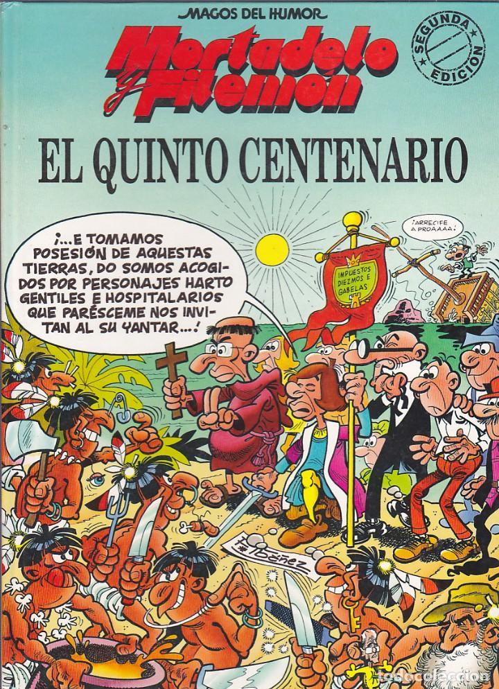 COMIC MAGOS DEL HUMOR E3L QUINTO CENTENARIO EDICIONES B (Tebeos y Comics - Ediciones B - Humor)