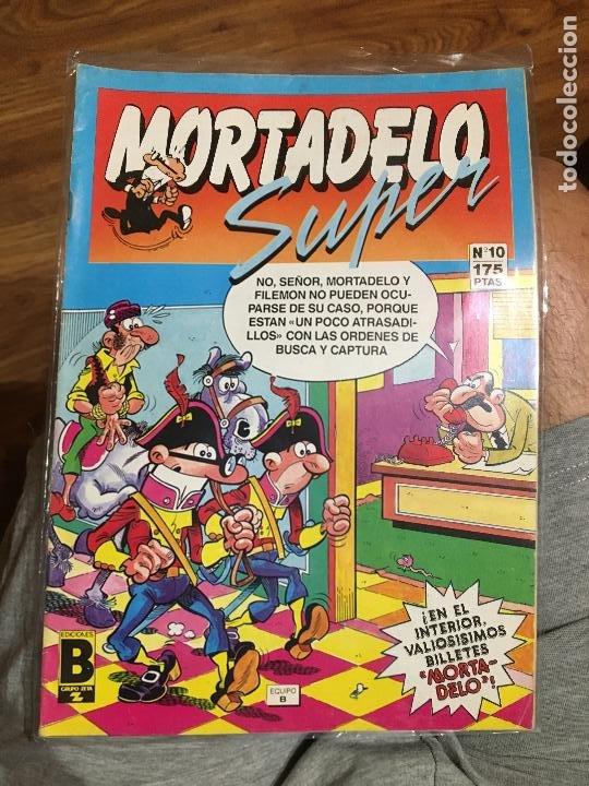 SUPER MORTADELO - NÚMERO 10 - EDICIONES B (Tebeos y Comics - Ediciones B - Humor)