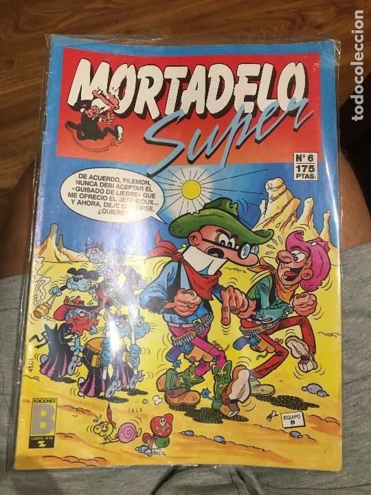 SUPER MORTADELO - NÚMERO 6 - EDICIONES B (Tebeos y Comics - Ediciones B - Humor)