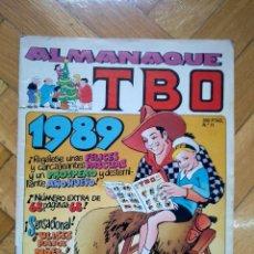 Cómics: TBO Nº 11 - ALMANAQUE 1989 - D8. Lote 218694898