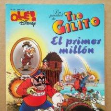 Cómics: OLÉ! DISNEY N°36: LA JUVENTUD DE TÍO GILITO/EL PRIMER MILLÓN (EDICIONES B, 1997).. Lote 218698441