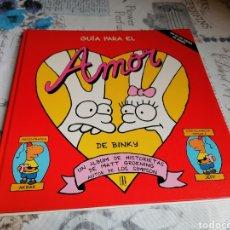 Cómics: GUÍA PARA EL AMOR DE BINKY. MATT GROENING. EDICIONES B.DIFÍCIL. Lote 218701155