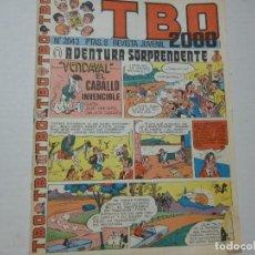 Cómics: TBO 2000 - Nº 2043 - AVENTIRA SORPRENDENTE -. Lote 218734892