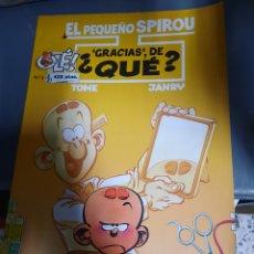 Cómics: EL PEQUEÑO SPIROU. ¿GRACIAS, DE QUE? - TOME & JANRY. Lote 218799231