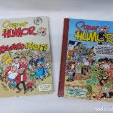Cómics: SUPER HUMOR MORTADELO Nº 27.EDICIONES B-SUPER HUMOR CLASICOS RIGOBERTO PICAPORTE Nº 4. Lote 218885945