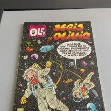 Cómics: SEGIS Y OLIVIO. N 323-V4. 1 EDICIÓN AGOSTO 1988. Lote 218949855