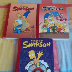 Cómics: LOTE 3 COMICS SUPER SIMPSON. Lote 219015712
