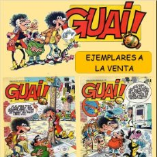Cómics: LOTE COMICS: GUAI! 42 / GUAI! 43 / GUAI! 44 / GUAI! 45 (PERFECTO ESTADO) LOTE 2. Lote 219039391