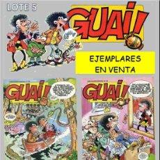 Fumetti: LOTE COMICS: GUAI! 54 / GUAI! 55 / GUAI! 56 / GUAI! 57 (PERFECTO ESTADO) LOTE 5. Lote 219073762