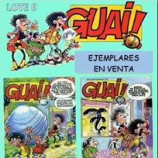 Cómics: LOTE COMICS GUAI! 58, GUAI! 59, GUAI! 61, GUAI! 62 (PERFECTO ESTADO) LOTE 6. Lote 219074470