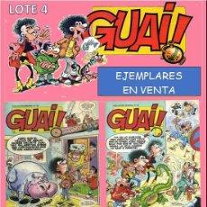 Cómics: LOTE COMICS: GUAI! 50 / GUAI! 51 / GUAI! 52 / GUAI! 53 (PERFECTO ESTADO) LOTE 4. Lote 219073070