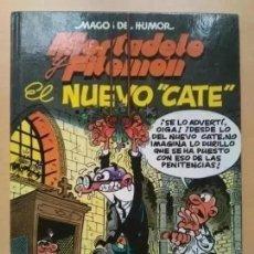 Cómics: MORTADELO Y FILEMON. EL NUEVO CATE. MAGOS DEL HUMOR. TAPA DURA.. Lote 219267187