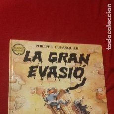 Cómics: LA GRAN EVASIO - COL. BUSCA BUSCA 9 - P. DUPASQUIER - CARTONE - LIBRO JUEGO - EN CATALAN. Lote 219346445