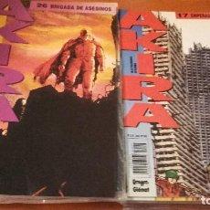 Cómics: AKIRA EDICIONES B LOTE DE 30 Nº. EN RÚSTICA. Lote 219350813