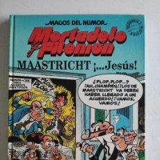 Fumetti: MAGOS DEL HUMOR, Nº 47 - MORTADELO Y FILEMÓN - MAASTRICHT ¡...JESÚS! - 2ª EDICIÓN 1993 - EDICIONES B. Lote 219412303