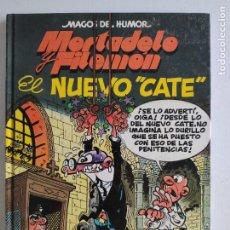 Fumetti: MAGOS DEL HUMOR, Nº 50 - MORTADELO Y FILEMÓN - EL NUEVO CATE - 1ª EDICIÓN 1993 - EDICIONES B. Lote 219412466