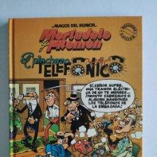 Fumetti: MAGOS DEL HUMOR, Nº 55 - MORTADELO Y FILEMÓN - EL PINCHAZO TELEFONICO- 2ª EDICIÓN 1994 - EDICIONES B. Lote 219412890