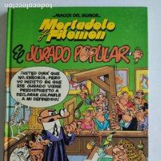 Fumetti: MAGOS DEL HUMOR, Nº65 - MORTADELO Y FILEMÓN - EL JURADO POPULAR- 1ª EDICIÓN 1996 - EDICIONES B. Lote 219414963