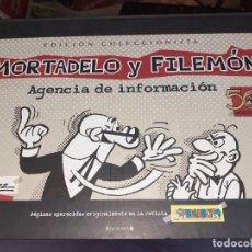 Cómics: MORTADELO Y FILEMÓN,AGENCIA DE INFORMACIÓN.EDICIÓN COLECCIONISTA 50 ANIVERSARIO.F.IBÁÑEZ.. Lote 219440717
