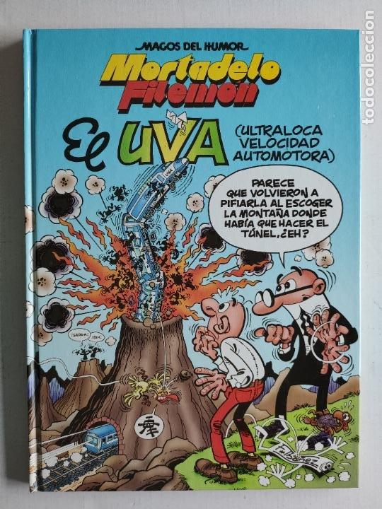 MAGOS DEL HUMOR, Nº97 - MORTADELO Y FILEMÓN - EL UVA - 1ª EDICIÓN 2003 - EDICIONES B (Tebeos y Comics - Ediciones B - Humor)