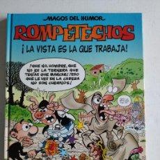 Cómics: MAGOS DEL HUMOR, Nº115 - ROMPETECHOS - ¡LA VISTA ES LA QUE TRABAJA! - 1ªEDICIÓN 2007, EDICIONES B. Lote 219499261
