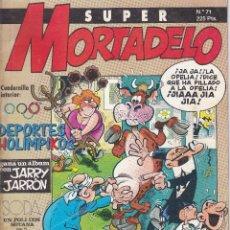 Cómics: SUPER MORTADELO Nº 71 EDITADO POR EDICIONES B EN 1987.. Lote 219519892