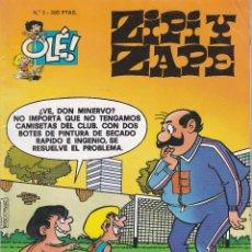 Cómics: ZIPI Y ZAPE Nº 3 EDITADO POR EDICIONES B EN 1997.. Lote 219526562