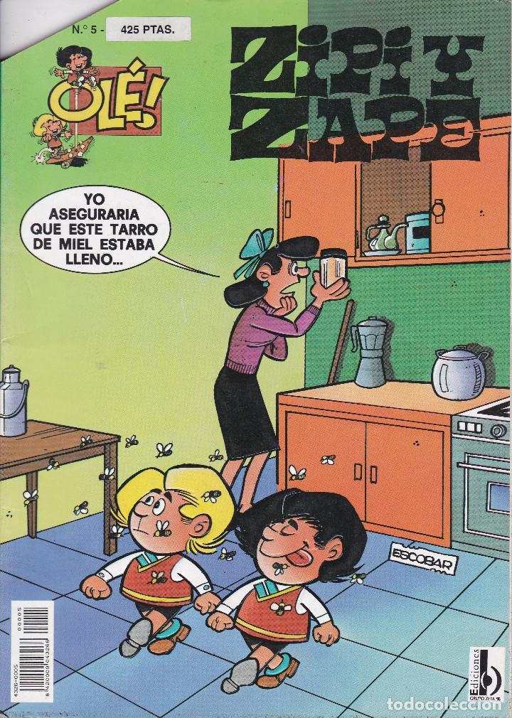 ZIPI Y ZAPE Nº 5 EDITADO POR EDICIONES B EN 1997. (Tebeos y Comics - Ediciones B - Humor)
