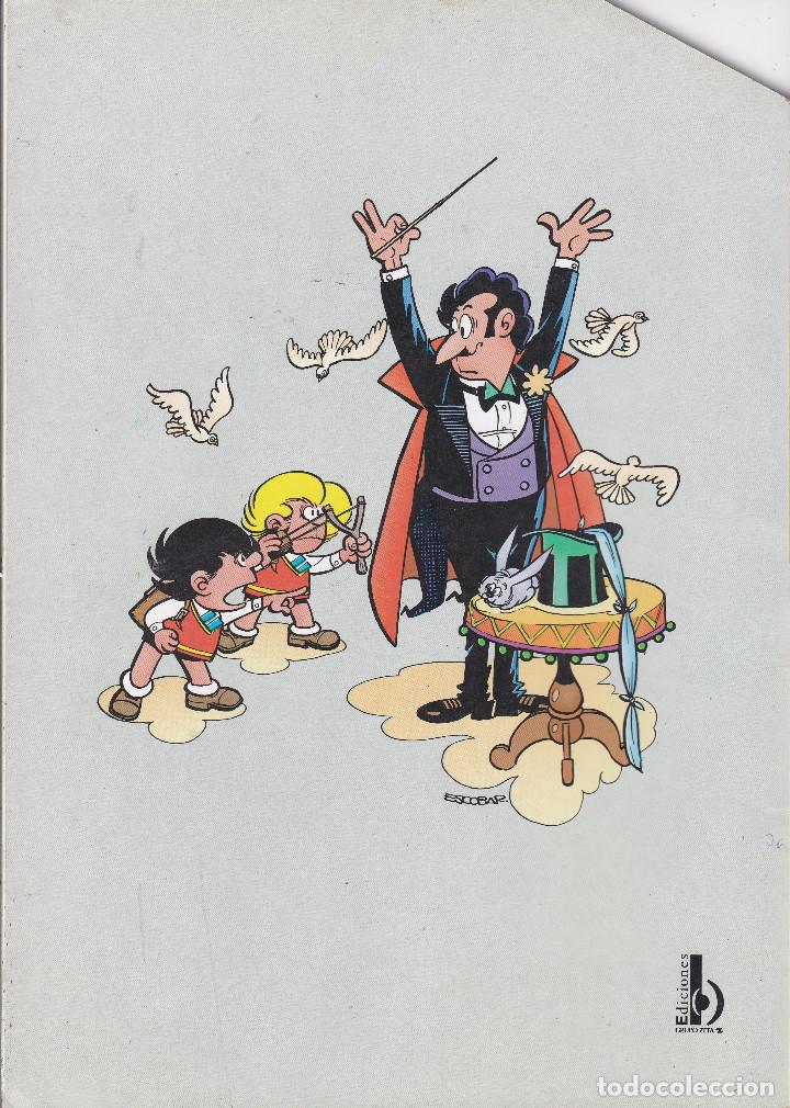 Cómics: ZIPI Y ZAPE Nº 5 EDITADO POR EDICIONES B EN 1997. - Foto 2 - 219528238