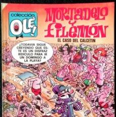 Fumetti: OLÉ! MORTADELO Y FILEMÓN Nº 128 - M.80 - 1ª EDICIÓN - 1988 - EDICIONES B - 225 PTAS. Lote 219597435