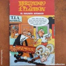 Cómics: MORTADELO Y FILEMON - EL SULFATO ATOMICO. EDICIONES B. Lote 219816423