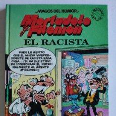 Fumetti: MAGOS DEL HUMOR, Nº 44 - MORTADELO Y FILEMÓN- EL RACISTA- 2ª EDICIÓN 1993 - EDICIONES B. Lote 219852985