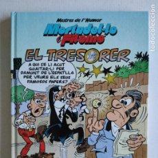 Cómics: MESTRES DE L'HUMOR, Nº 39 - MORTADELO Y FILEMÓN- EL TRESORER - 2ª EDICIÓN 2015- EDICIONES B- CATALÁN. Lote 219853172