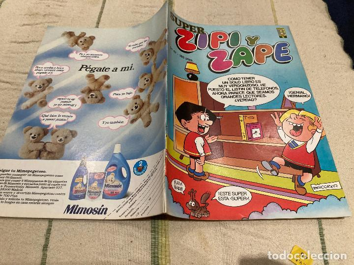 SUPER ZIPI ZAPE Nº 47 EDICIONES B 1987 (Tebeos y Comics - Ediciones B - Clásicos Españoles)