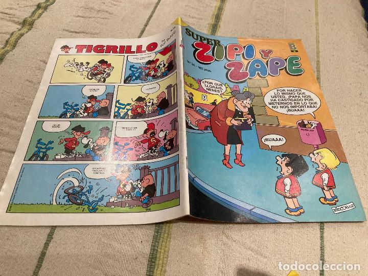 SUPER ZIPI ZAPE Nº 34 EDICIONES B 1987 (Tebeos y Comics - Ediciones B - Clásicos Españoles)