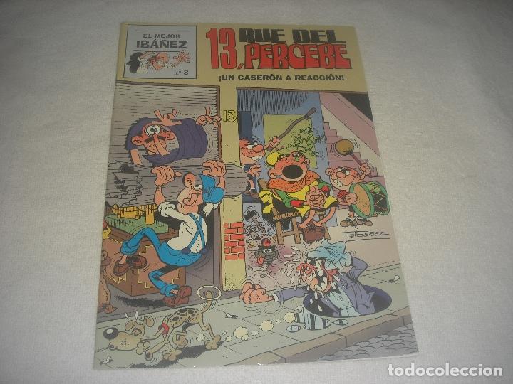 EL MEJOR IBAÑEZ N. 3 , 13 RUE DEL PERCEBE. (Tebeos y Comics - Ediciones B - Clásicos Españoles)