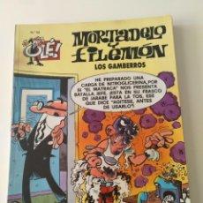 Cómics: MORTADELO Y FILEMÓN - OLÉ 52 - LOS GAMBERROS. Lote 220193070