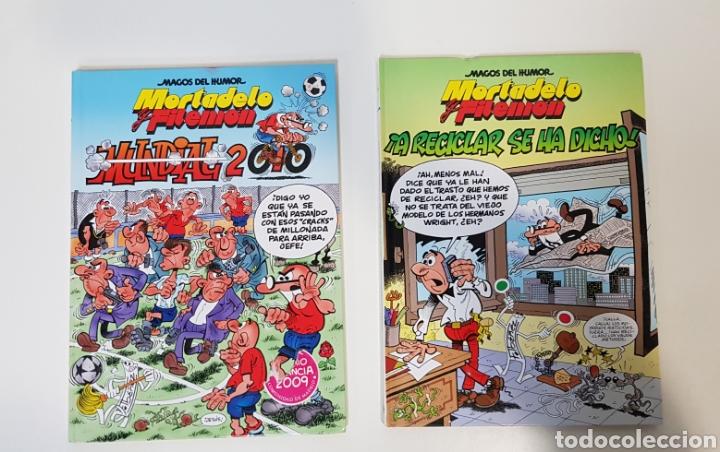 MAGOS DEL HUMOR / MORTADELO Y FILEMÓN / 137 MUNDIAL 2010 / 144 ¡A RECICLAR SE HA DICHO! / EDICI. B (Tebeos y Comics - Ediciones B - Clásicos Españoles)
