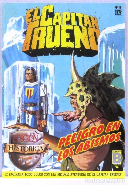 EL CAPITAN TRUENO - PELIGRO EN LOS ABISMOS - Nº 19 - EDICION HISTORICA - COMIC (Tebeos y Comics - Ediciones B - Clásicos Españoles)