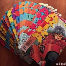 Cómics: AKIRA EDICIONES B LOTE DE 21 NÚMEROS. Lote 220569620