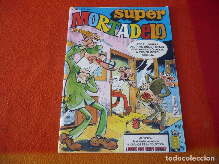 SUPER MORTADELO Nº 51 ¡BUEN ESTADO! EDICIONES B 1987 (Tebeos y Comics - Ediciones B - Humor)