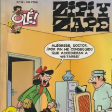 Cómics: Nº 38 ZIPI Y ZAPE. OLÉ 1º EDICIÓN NOVIEMBRE 1995 ESCOBAR. Lote 220916340
