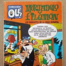 Comics: COLECCIÓN OLÉ! N°90-M.18/MORTADELO Y FILEMÓN: LOS DIAMANTES DE LA GRAN DUQUESA (EDICIONES B, 1991).. Lote 221122893